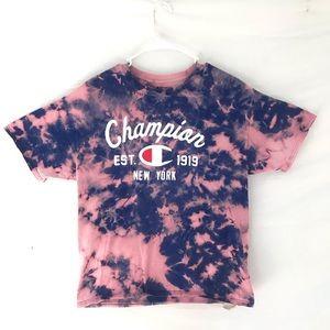 Custom dyed Champion T-shirt